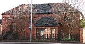 Photograph of Bingham drill hall